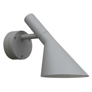 AJ 50 LED Outdoor wall light - / outdoor by Louis Poulsen Silver