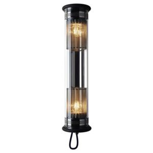 In The Tube 100-500 Outdoor wall light - L 52 cm by DCW éditions Metal