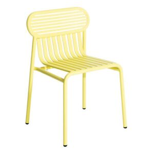 Week-end Chair - Aluminium by Petite Friture Yellow