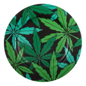 Weed Plate - / China - Ø 27 cm by Seletti Green