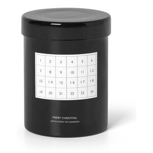 Cannelle Scented candle - / Advent calendar by Ferm Living Black