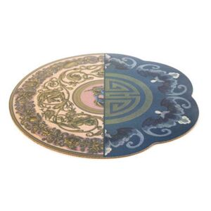 Hybrid Trude Placemat - / Ø 37 cm by Seletti Multicoloured