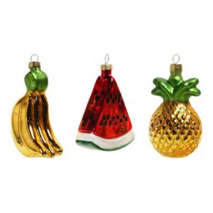 Fruits Bauble - / Set of 3 by & klevering Multicoloured