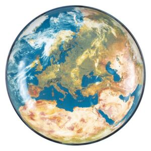 Cosmic Diner Soup plate - / Earth Europe - Ø 32 cm by Diesel living with Seletti Multicoloured