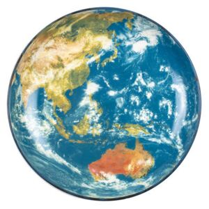 Cosmic Diner Soup plate - / Earth Asia - Ø 32 cm by Diesel living with Seletti Multicoloured