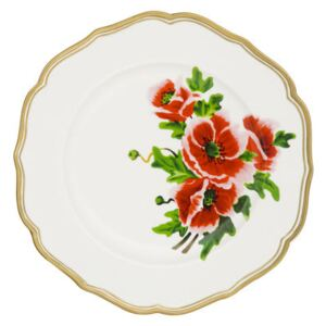 Fiore francese Plate - / Ø 27 cm by Bitossi Home White