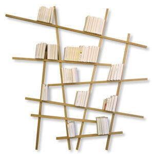 Mikado Large Bookcase - Natural wood - Large by Compagnie Natural wood