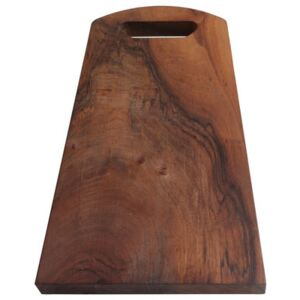 Chopping board - Solid walnut by Malle W. Trousseau Natural wood