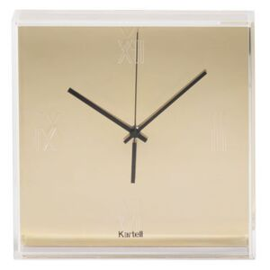 Tic & Tac Wall clock - Melallised by Kartell Gold