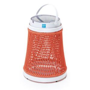 Solare Solar lamp - / Synthetic cord - H 40 cm / Solar or USB charging by Unopiu Pink