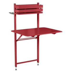 Balcon Bistro Foldable table - 77 x 64 cm by Fermob Red