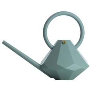 Diamond Large Watering can - Plastic / 8L by Garden Glory Blue/Green