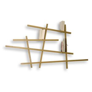 Mikado Small Bookcase - Natural wood - Small by Compagnie Natural wood