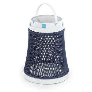 Solare Solar lamp - / Synthetic cord - H 40 cm / Solar or USB charging by Unopiu Blue