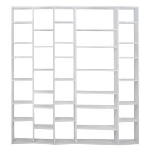 New York 005 Bookcase - L 216 x H 224 cm by POP UP HOME White