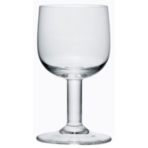 Glass family Water glass by A di Alessi Transparent