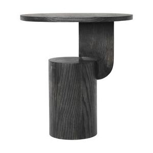 Insert End table - / H 50 cm - Wood by Ferm Living Black