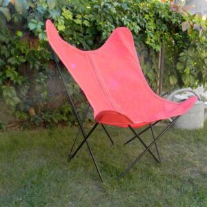 Batyline OUTDOOR Cover - / For AA Butterfly armchair by AA-New Design Red