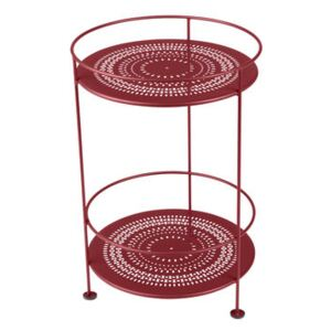 Guinguette Small table - / Ø 40 x H 61 cm by Fermob Red