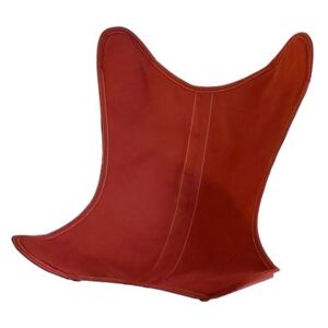 Cover - OUTDOOR cotton / For AA Butterfly armchair by AA-New Design Red/Orange