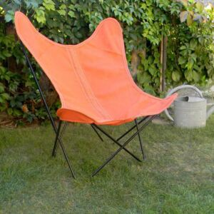Batyline OUTDOOR Cover - / For AA Butterfly armchair by AA-New Design Red/Brown