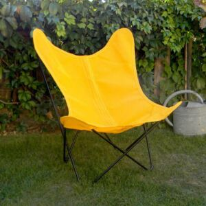 Batyline OUTDOOR Cover - / For AA Butterfly armchair by AA-New Design Yellow