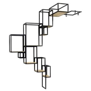 Jointed Bookcase - Wall - 152 x 115 cm by Serax Black
