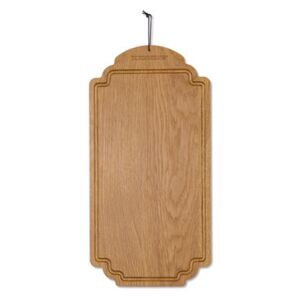 Chopping board - Oak / Rectangle - 19 x 38 cm by Dutchdeluxes Natural wood