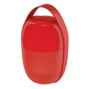 Food à porter Lunch box - / Small -2 compartments by Alessi Red