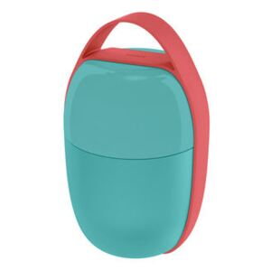 Food à porter Lunch box - / Small -2 compartments by Alessi Blue
