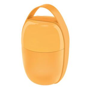 Food à porter Lunch box - / Small -2 compartments by Alessi Yellow
