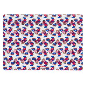 L'Americana La Double J Placemat - / 42 x 30 cm by Kartell White/Red