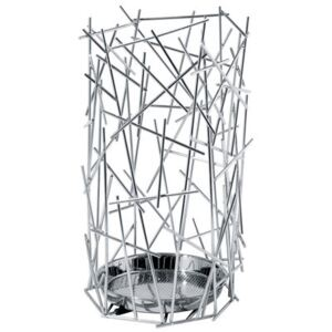 Blow up Umbrella holder by Alessi Metal