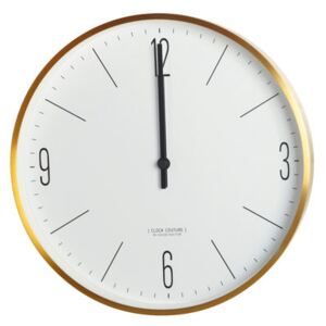 Clock Couture Wall clock - Ø 30 cm by House Doctor Gold