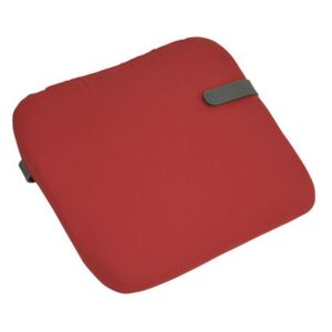 Color Mix Chair cushion - 41 x 38 cm by Fermob Red