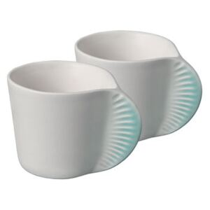Morphose Coffee cup - / Set of 2 by Ibride Blue