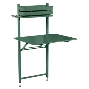 Balcon Bistro Foldable table - 77 x 64 cm by Fermob Green