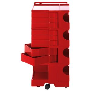 Boby Trolley - H 94 cm - 8 drawers by B-LINE Red
