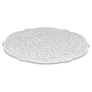 Dressed Saucer - For tea cup by Alessi White