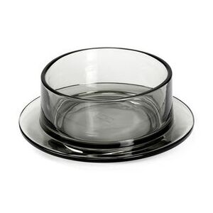 Dishes to Dishes - Verre Bowl - / High - Ø 20.5 x H 8 cm by valerie objects Grey