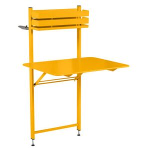 Balcon Bistro Foldable table - 77 x 64 cm by Fermob Yellow