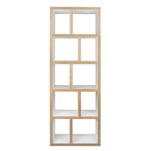 Rotterdam Bookcase - L 70 x H 198 cm by POP UP HOME White