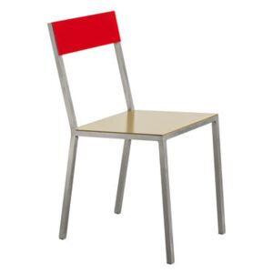 Alu Chair by valerie objects Yellow/Red