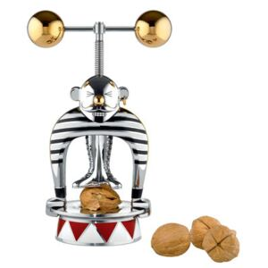 Strongman Nut cracker - Circus - Numbered limited edition by Alessi Gold/Silver