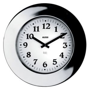 Momento Wall clock by Alessi Metal