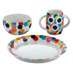 Proust Children's tableware set by Alessi Multicoloured