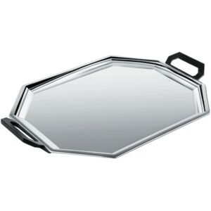 Memories from the future - Ottagonale Tray by Alessi Black/Metal