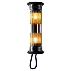 In The Tube 100-350 Outdoor wall light - L 37 cm by DCW éditions Gold