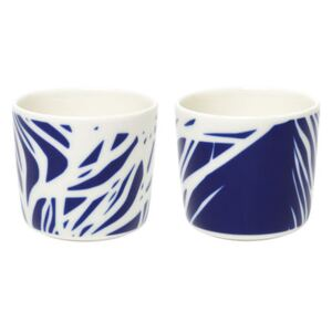 Ruudut Coffee cup - / Without handle - Set of 2 by Marimekko White/Blue