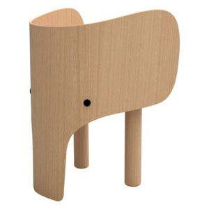 Elephant Children's chair - H 52 cm by EO Natural wood